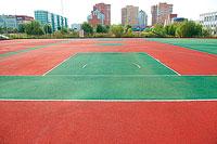 В последние годы в Обнинске то там, то сям открываются новые спортивные площадки, но ни одна из них не была открыта с такой помпой, как спортплощадка в 16-й школе