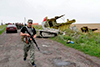 Российские пограничники открыли огонь по нарушителю границы с Украиной
