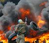 Мощные артиллерийские взрывы слышны в центре Донецка