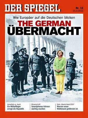 Изображение Меркель с нацистами на обложке Spiegel шокировало соцсети